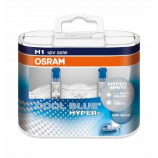 OSRAM COOL BLUE HYPER PLUS (H1, 62150CBH+ DUOBOX)