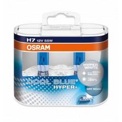OSRAM COOL BLUE HYPER PLUS (H7, 62210CBH+ DUOBOX)