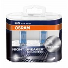 OSRAM NIGHT BREAKER UNLIMITED (H8, 64212NBU-DUOBOX)