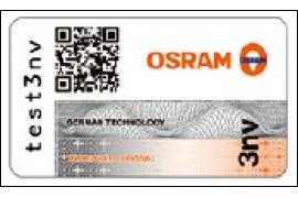 Программа Trust по определению подлинности ксеноновых автомобильных ламп OSRAM