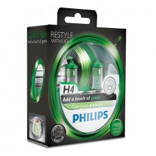 PHILIPS COLOR VISION GREEN (H4, 12342CVPGS2)