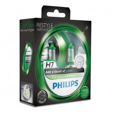 PHILIPS COLOR VISION GREEN (H7, 12972CVPGS2)