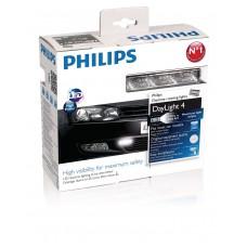 Светодиодные дневные ходовые огни  Philips DayLight 4 (12820WLEDX1)