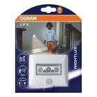 Ночник светодиодный OSRAM NIGHTLUX WT на батарейках с датчиком движения и света  (80193)