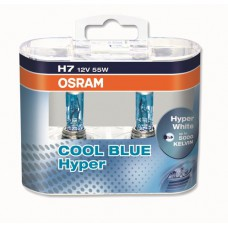 OSRAM COOL BLUE HYPER (H7, 62210CBH-DUOBOX)