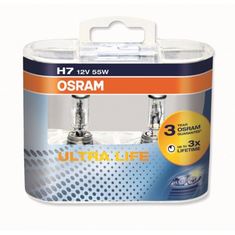osram ultra life h7 64210ult duobox. Black Bedroom Furniture Sets. Home Design Ideas