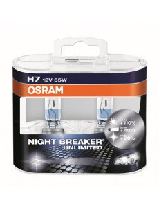 OSRAM NIGHT BREAKER UNLIMITED (H7, 64210NBU-DUOBOX)