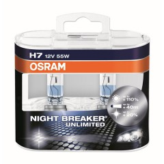 OSRAM NIGHT BREAKER UNLIMITED (H7, 64210NBU-DUOBOX)