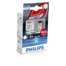 Philips X-tremeVision LED (P21/5W, 12899RX2)